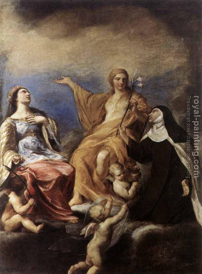 Andrea Sacchi : The Three Magdalenes