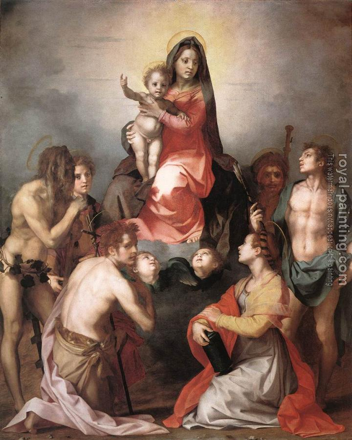 Madonna in Glory and Saints