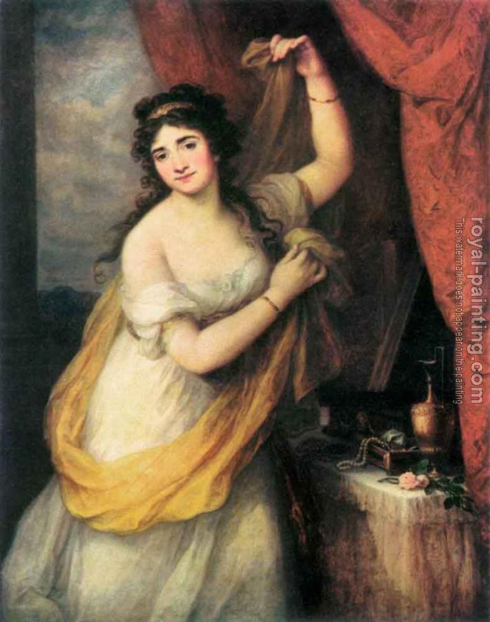 Angelica Kauffmann : Portrait Of A Woman