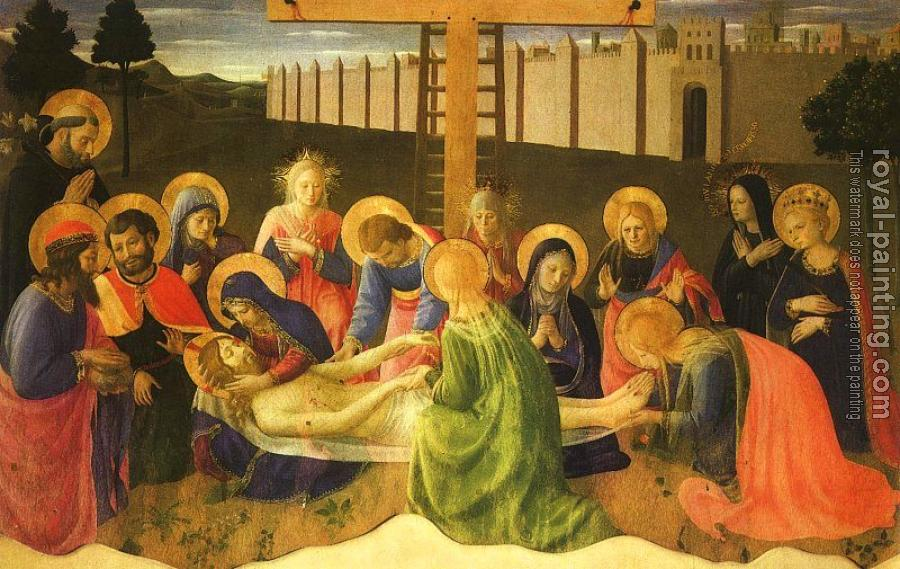 Fra Angelico : Lamentation over the Dead Christ