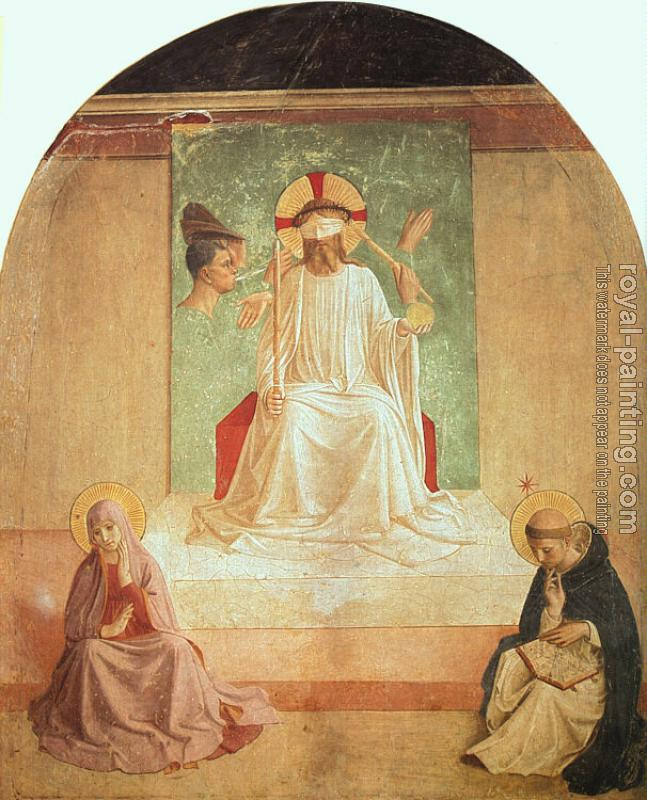 Fra Angelico : The Mocking of Christ (with Benozzo Gozzoli)
