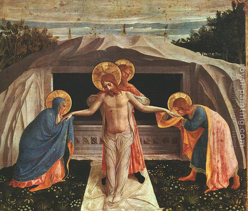 Fra Angelico : Entombment