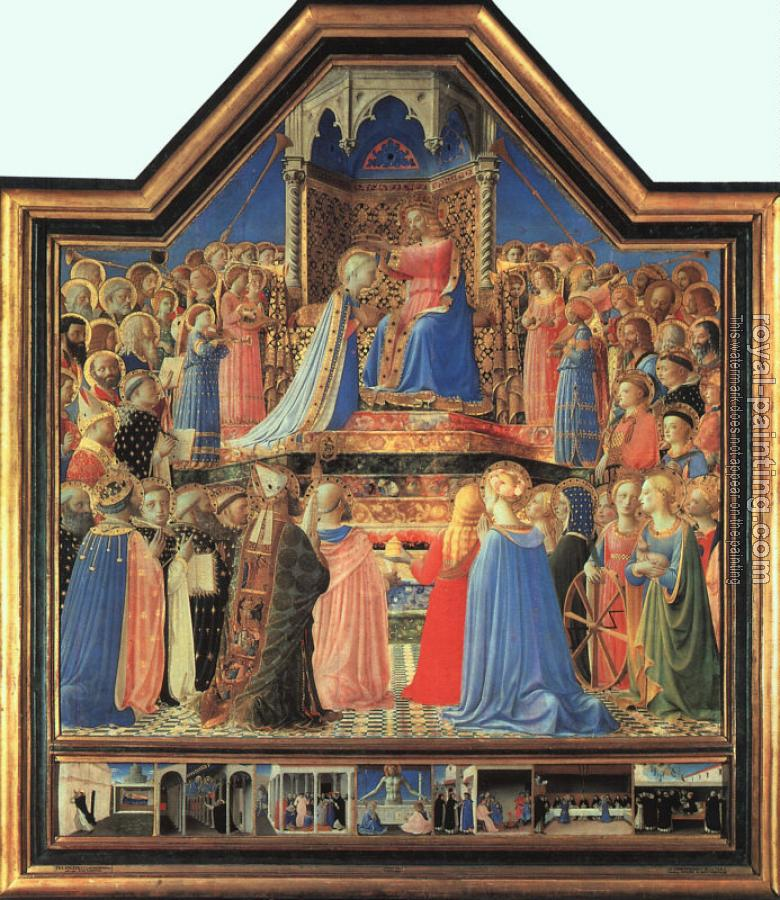 Fra Angelico : Coronation of the Virgin