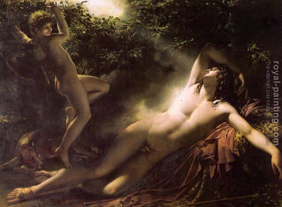 Anne-Louis Girodet De Roussy-Trioson : The Sleep of Endymion