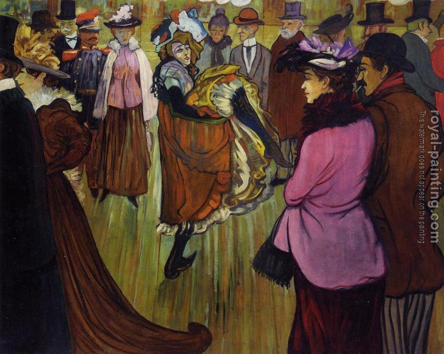Louis Anquetin : At the Moulin Rouge