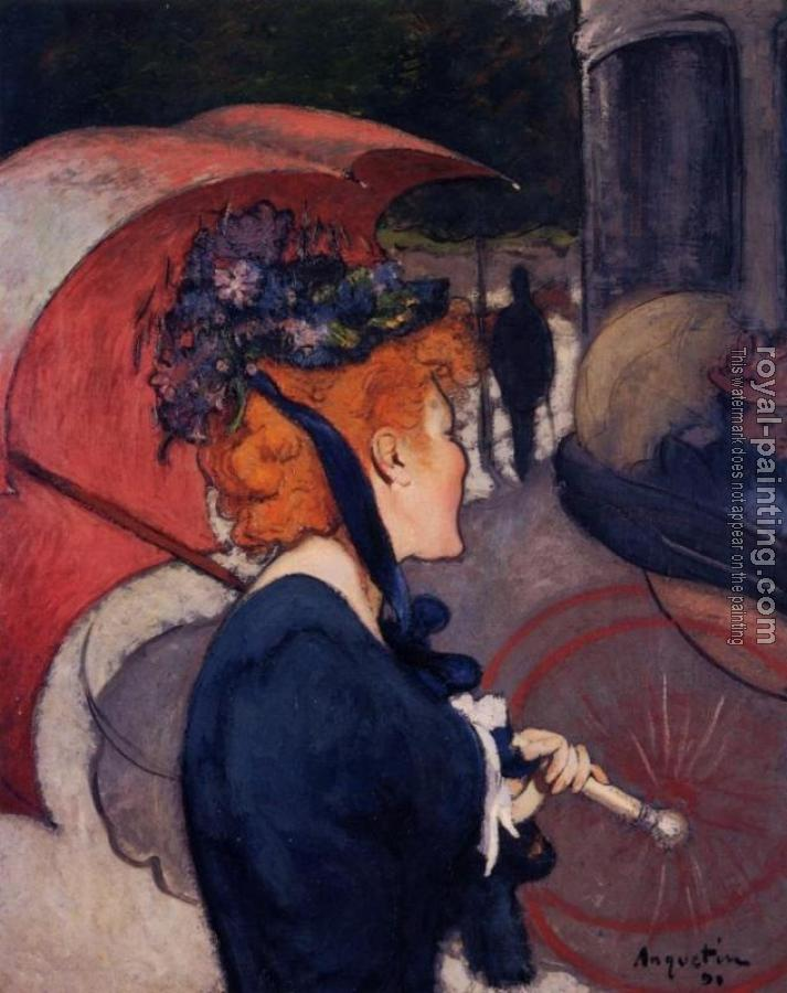 Louis Anquetin : Woman with Umbrella