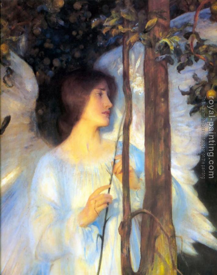 Arthur Hacker : The Cloister of the Bell