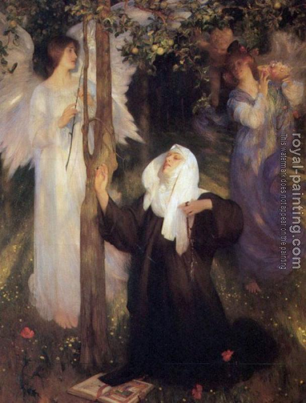 Arthur Hacker : The Cloister or the World