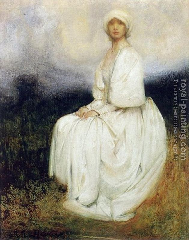 Arthur Hacker : The Girl in White