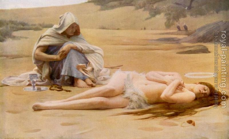 Arthur Hacker : Pelagia And The Philammon