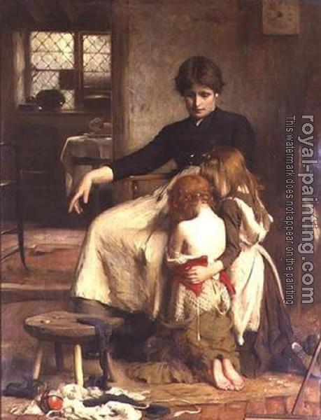 Arthur Hacker : The Childrens Prayer