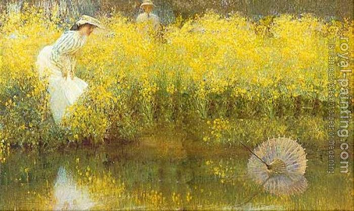 Arthur Hacker : The Parasol