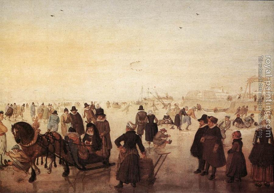 Hendrick Avercamp : Ice Scene