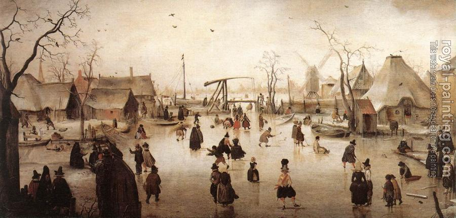 Hendrick Avercamp : Ice Scene II