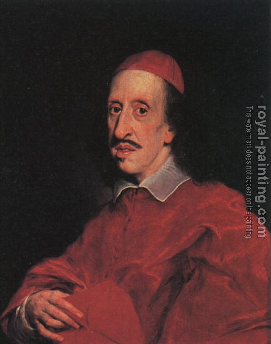 Graphic Portrait of Cardinal Leopoldo de' Medici