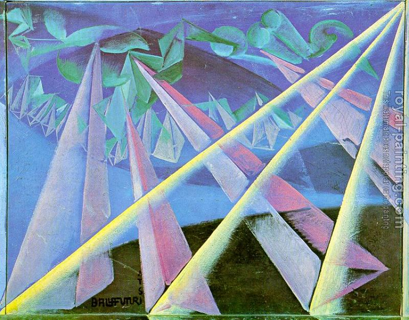 Giacomo Balla : Form-Spirit Transformation