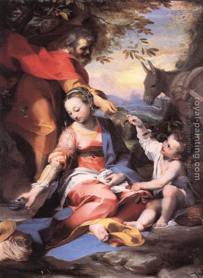 Federico Barocci : Rest on the Flight to Egypt
