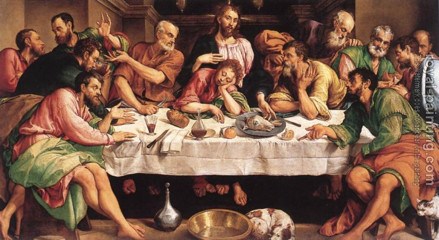 Jacopo Bassano : The Last Supper