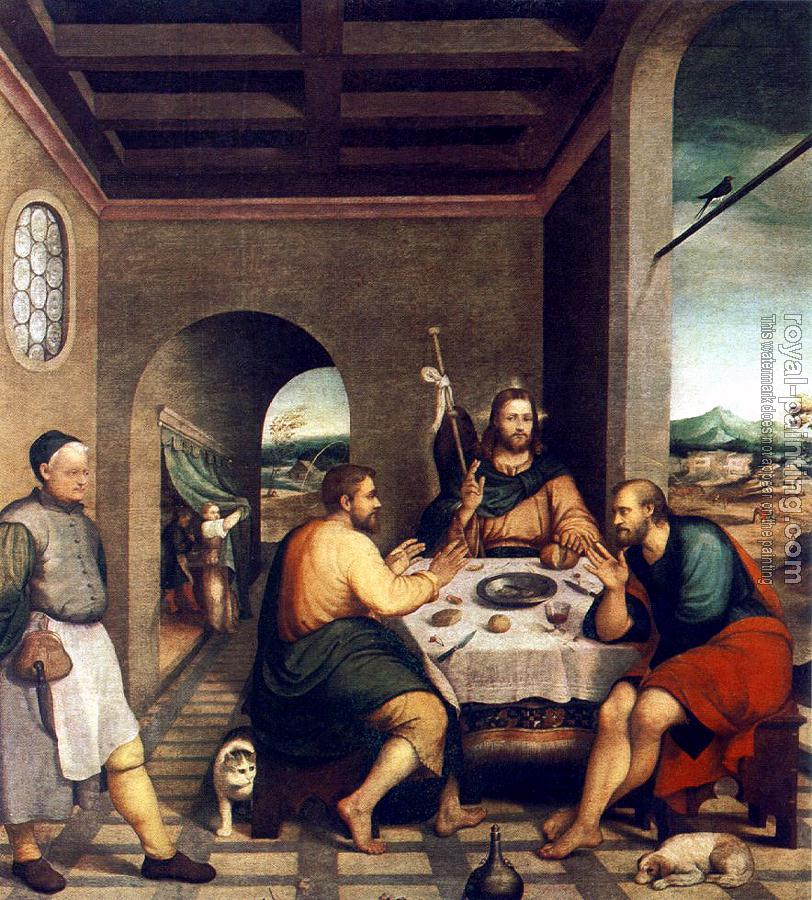 Jacopo Bassano : Supper At Emmaus