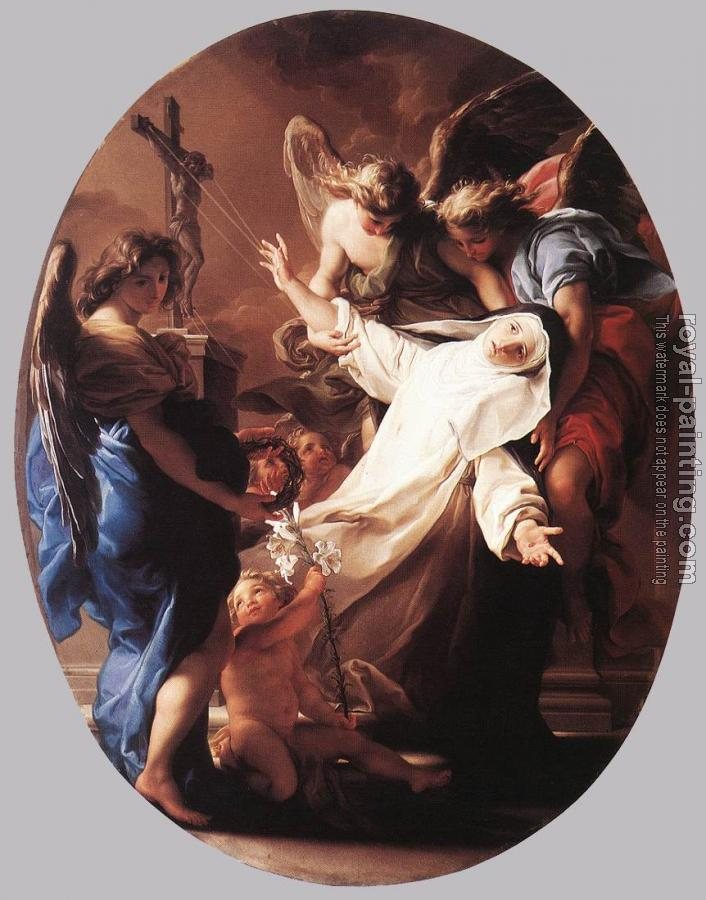 Pompeo Batoni : The Ecstasy Of St Catherine Of Siena