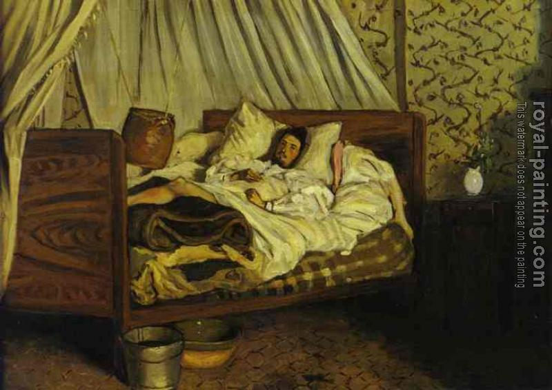 Frederic Bazille : The Improvised Field Hospital