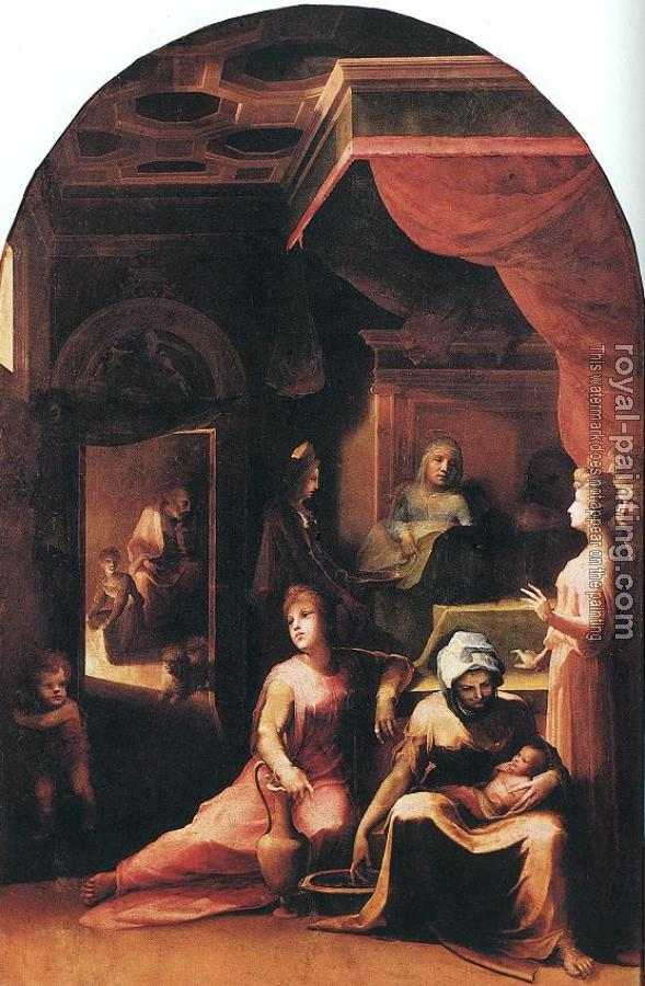 Domenico Beccafumi : Birth of the Virgin