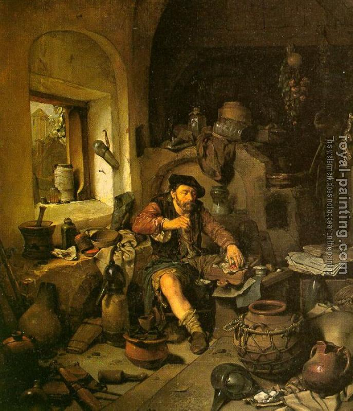 Cornelis Bega : Graphic The Alchemist