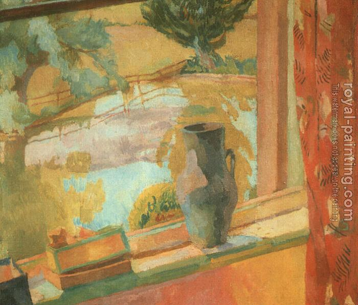 Vanessa Bell : View of the Pond at Charleston