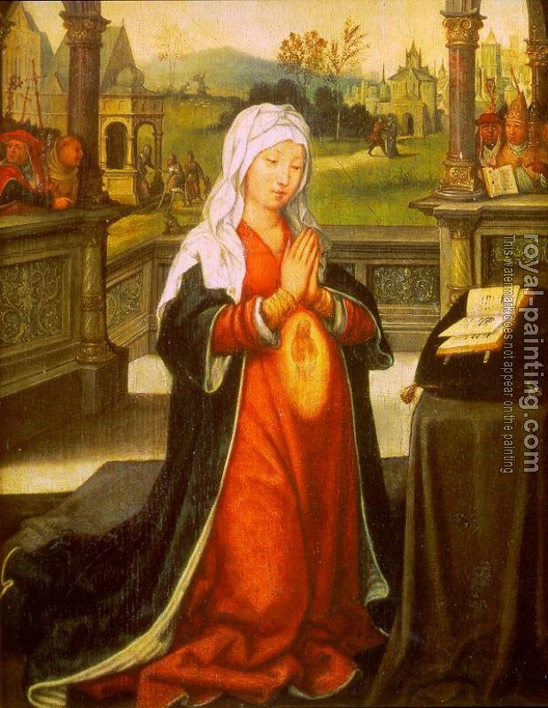 Jean Bellegambe : St. Anne Conceiving the Virgin Mary