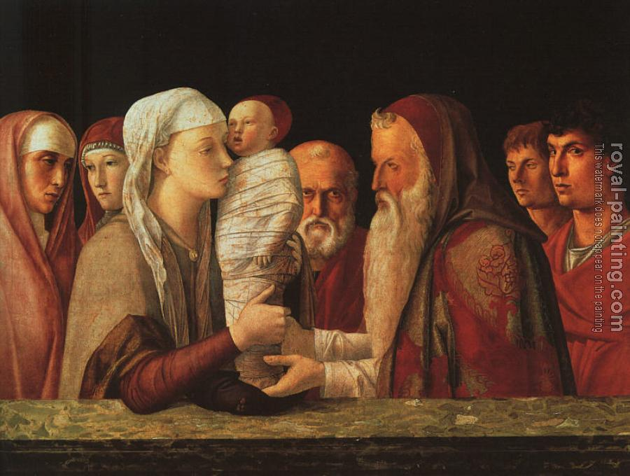 Giovanni Bellini : The Presentation at the Temple