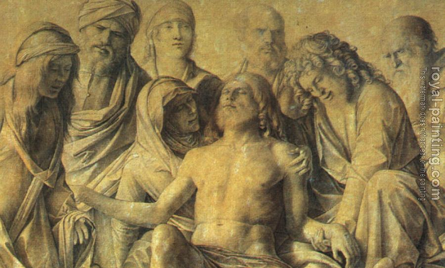 Giovanni Bellini : The Lamentation over the Body of Christ