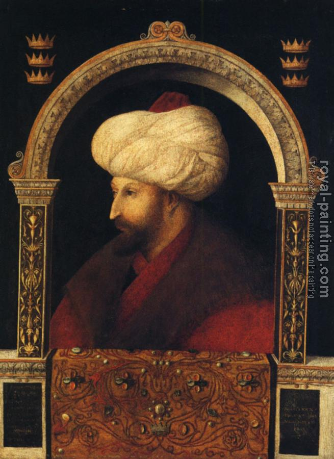 Giovanni Bellini : Bellini Giovanni Portrait of Mehmer