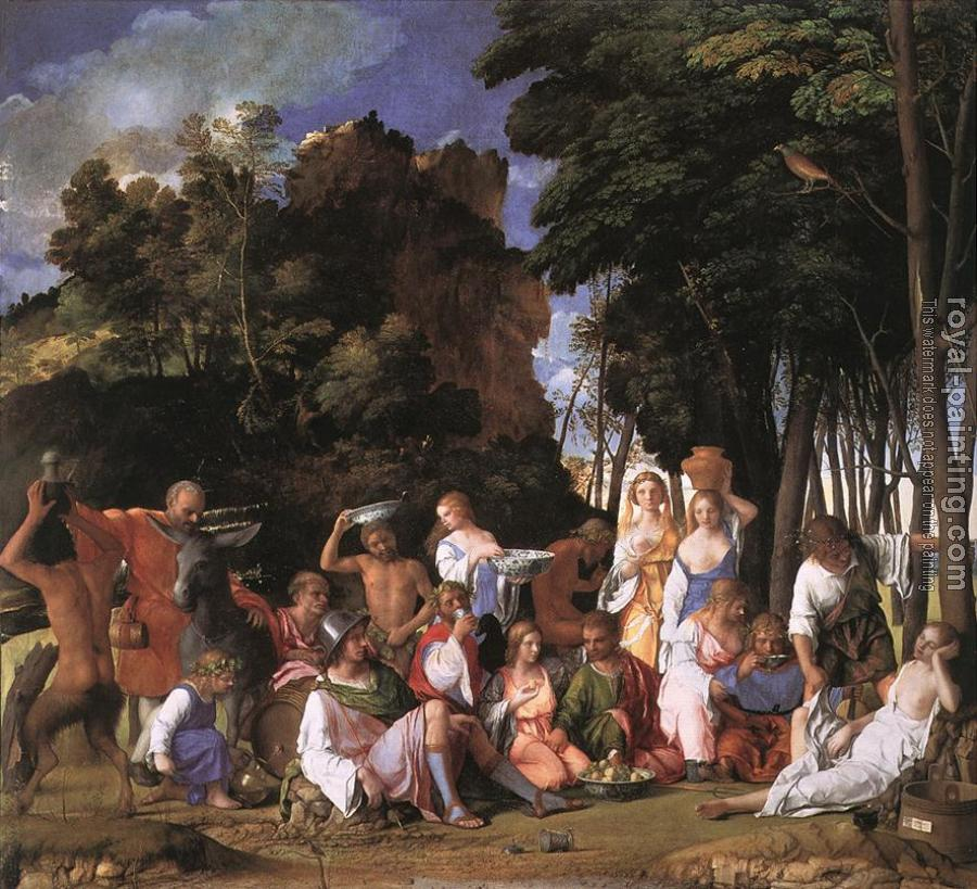 Giovanni Bellini : Feast of the Gods II