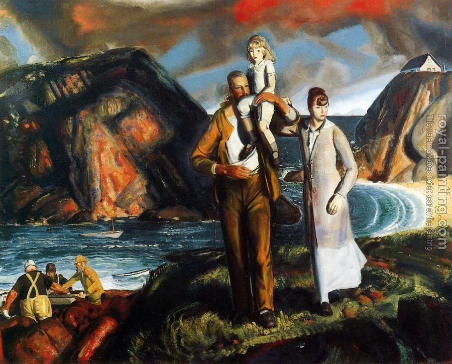 George Bellows : Fisherman's Family