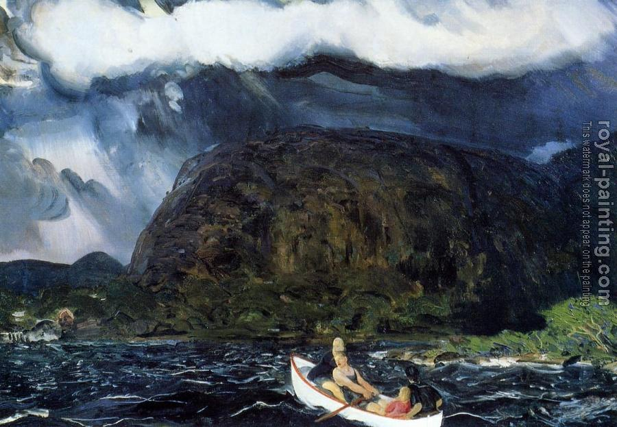 George Bellows : In a Rowboat