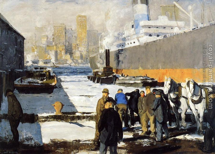 George Bellows : Men of the Docks