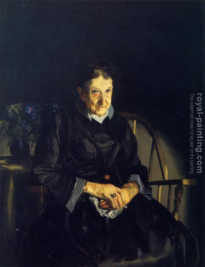 George Bellows : Old Lady in Black