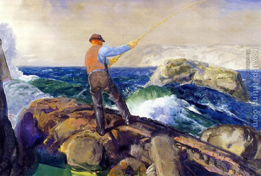 George Bellows : The Fisherman