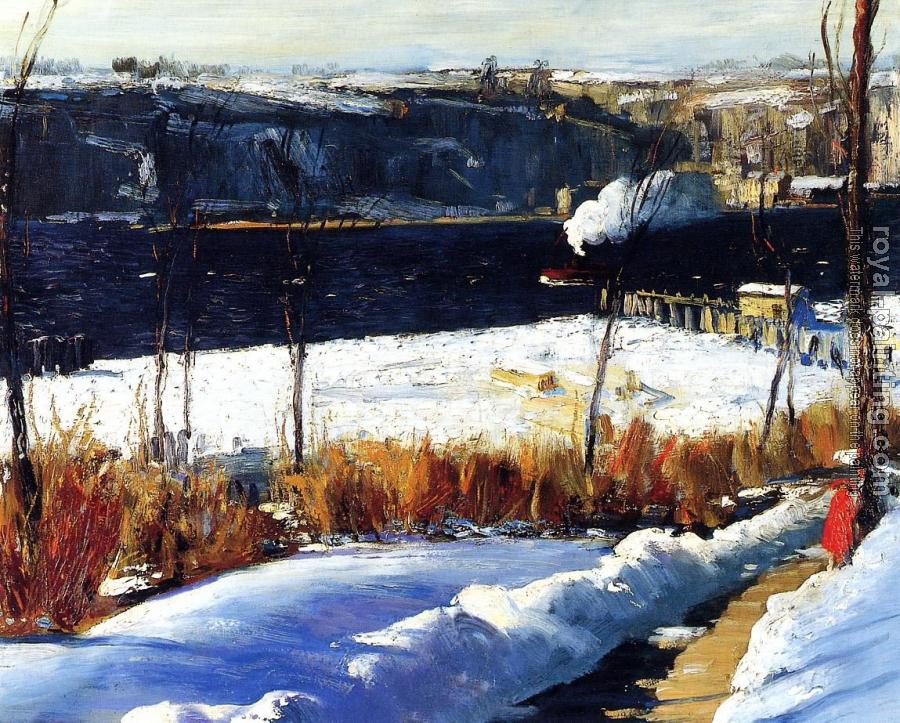 George Bellows : Winter Afternoon
