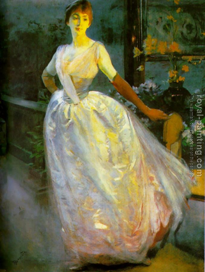 Paul Albert Besnard : Portrait of Madame Roger Jourdain