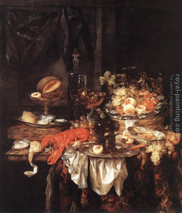 Banquet Still-Life with a Mouse