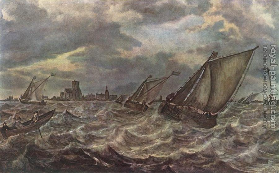 Abraham Van Beyeren : Rough Sea
