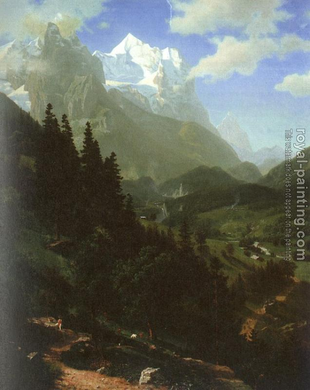 Albert Bierstadt : The  Wetterhorn