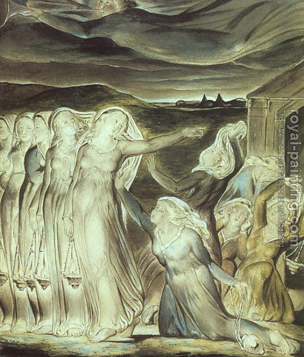 William Blake : The Parable of the Wise and Foolish Virgins