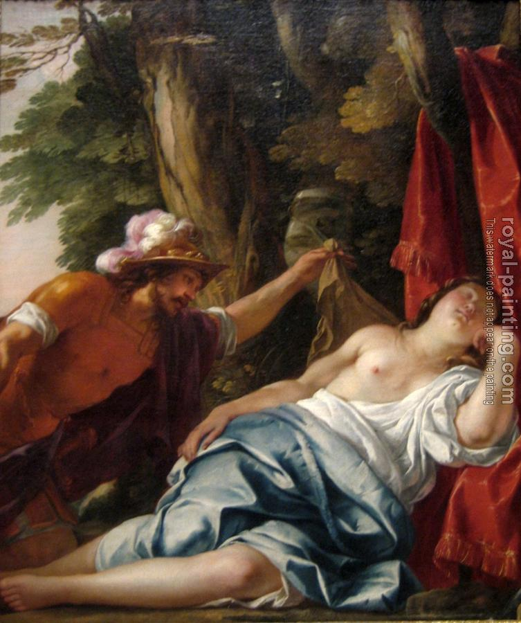 Jacques Blanchard : Mars and the Vestal Virgin