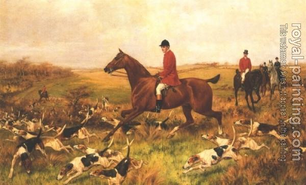 Thomas Blinks : Picking Up The Scent, Foxhunting