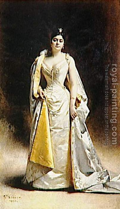 Portrait de madame Albert Cahen d'Anvers