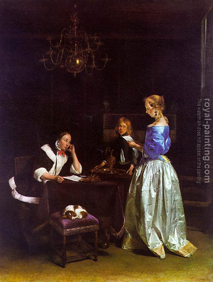 Gerard Ter Borch : The Letter
