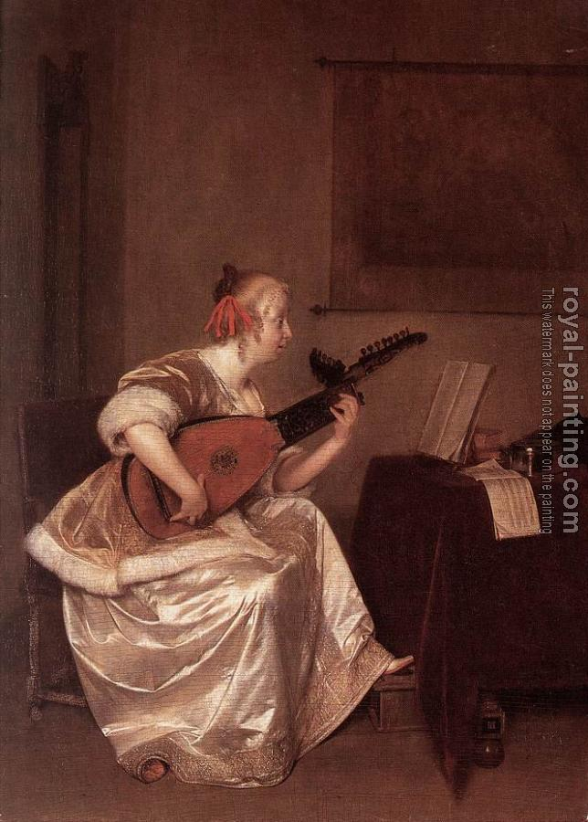 Gerard Ter Borch : The Lute Player