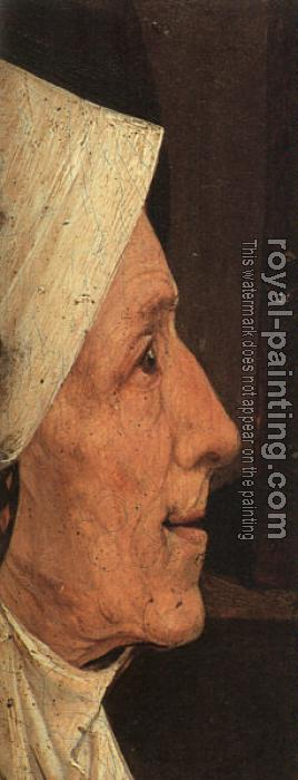 Hieronymus Bosch : Head of a Woman (fragment)